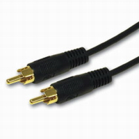 6ft Value Series Mono RCA Audio Cable