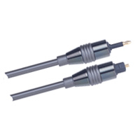 2m Velocity Toslink-to-Optical Mini Plug Digital Cable
