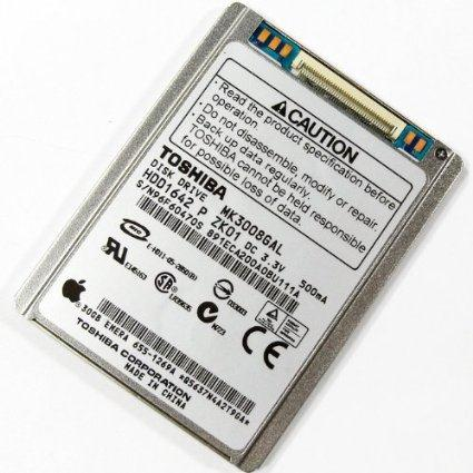 "Toshiba 30gb 1.8"" Hard Drive MK3008GAL for Zune and iPod"